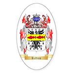 Raftiss Sticker (Oval 50 pk)