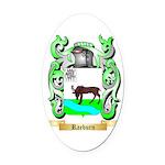Raeburn 2 Oval Car Magnet