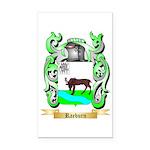 Raeburn 2 Rectangle Car Magnet