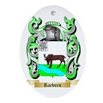 Raeburn 2 Oval Ornament