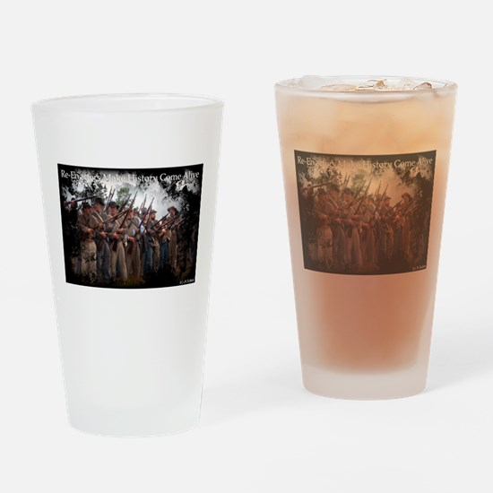 Confederate Volley Drinking Glass