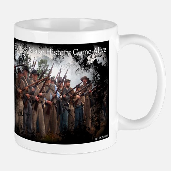 Confederate Volley Mugs