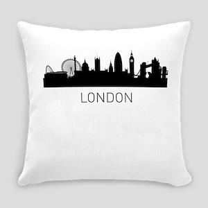 London England Cityscape Everyday Pillow