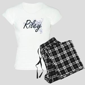 Riley surname artistic desi Women's Light Pajamas