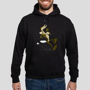 Fast Road Runner fox Hoodie (dark)