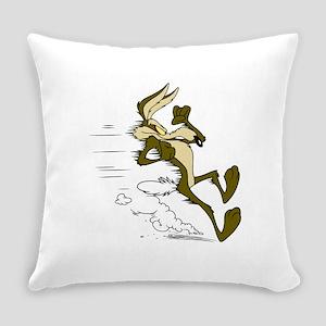 Fast Road Runner fox Everyday Pillow