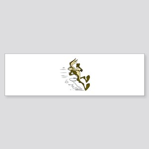 Fast Road Runner fox Bumper Sticker