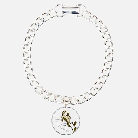 Fast Road Runner fox Charm Bracelet, One Charm