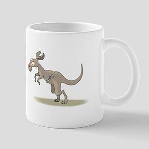 Kangaroo Zipper Pouch Mugs