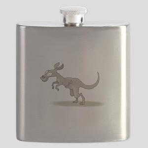 Kangaroo Zipper Pouch Flask