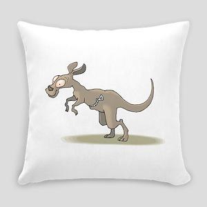 Kangaroo Zipper Pouch Everyday Pillow