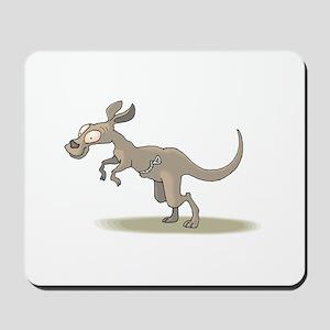 Kangaroo Zipper Pouch Mousepad