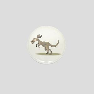 Kangaroo Zipper Pouch Mini Button