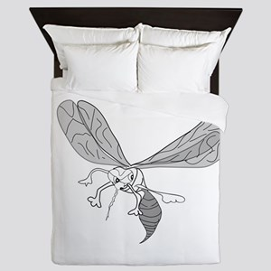 FREEHAND MOSQUITO Queen Duvet