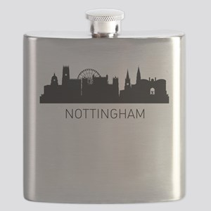 Nottingham England Cityscape Flask