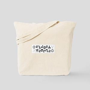 Church People Ambigram Tote Bag