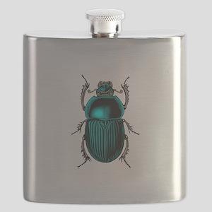 Beetle Bug Flask