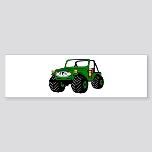 Toyota land cruiser Bumper Sticker
