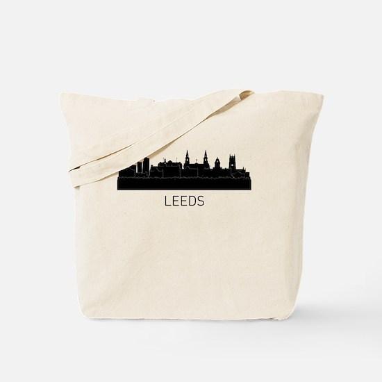 Leeds England Cityscape Tote Bag