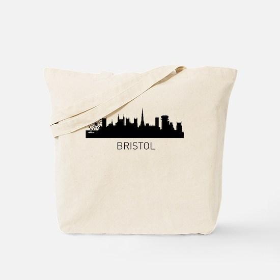 Bristol England Cityscape Tote Bag