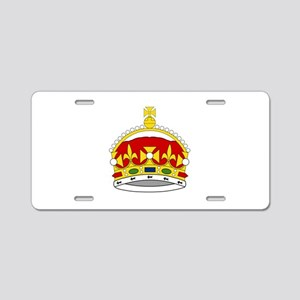 Crown Of George Prince Of W Aluminum License Plate