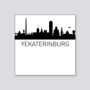 Yekaterinburg Russia Cityscape Sticker