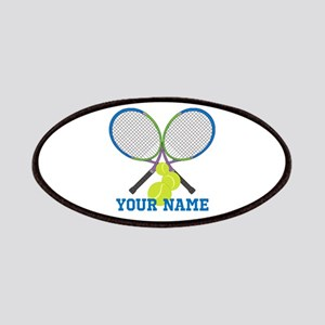 Personalized Tennis Player Patch