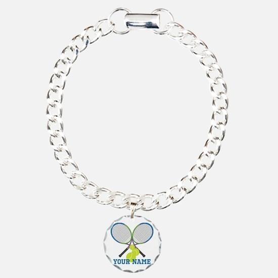 Personalized Tennis Player Bracelet