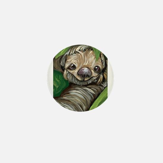 Sloth Mini Button