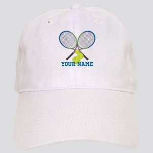 Personalized Tennis Player Baseball Cap