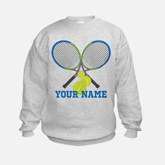 Personalized Tennis Player Sweatshirt