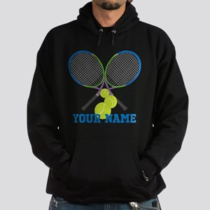 Personalized Tennis Player Hoodie