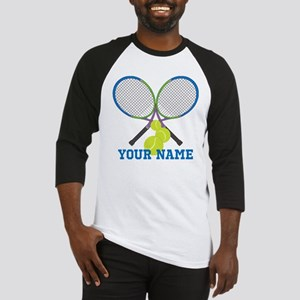 Personalized Tennis Player Baseball Jersey