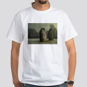 Avebury in the Frost White T-Shirt