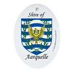 Aarquelle Oval Ornament