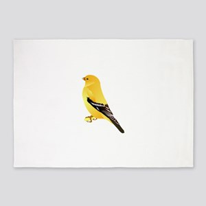 Gold finch 5'x7'Area Rug