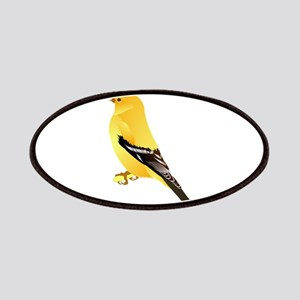 Gold finch Patch