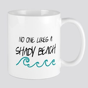Shady Beach Mugs