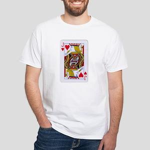 Halloween Poker White T-Shirt
