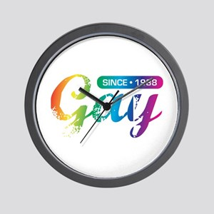 Gay Since 1988 Wall Clock