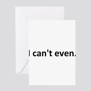 icanteven Greeting Cards