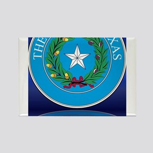 Texas State Seal Reflection Magnets