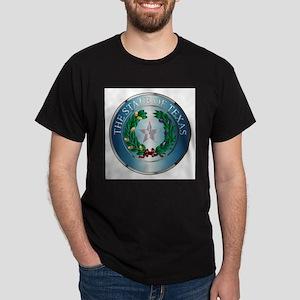 Metal Texas State Seal T-Shirt