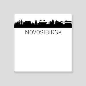 Novosibirsk Russia Cityscape Sticker