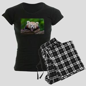 Red Panda Women's Dark Pajamas