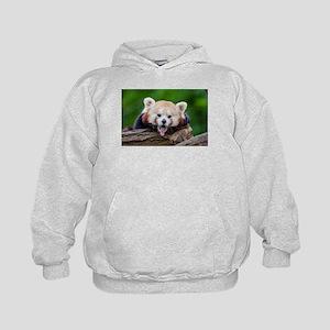 Red Panda Kids Hoodie