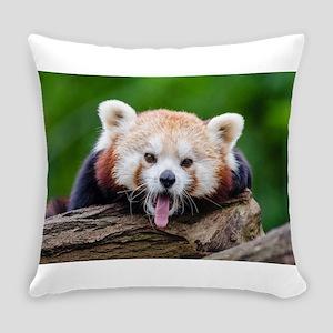 Red Panda Everyday Pillow