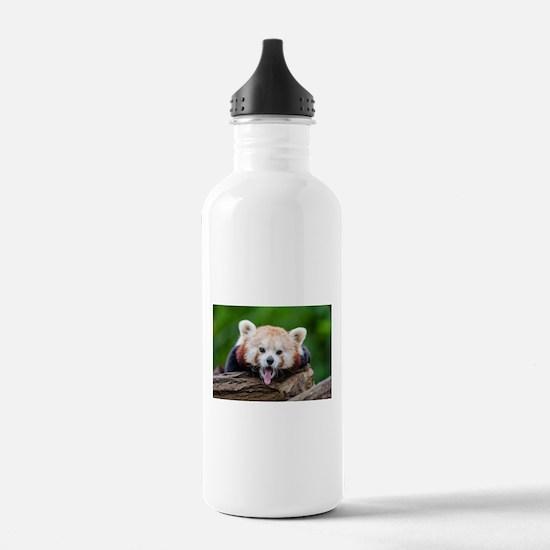 Red Panda Sports Water Bottle