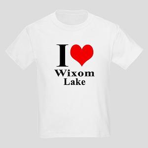 I Heart Wixom Lake Kids Light T-Shirt
