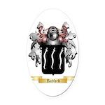Radford Oval Car Magnet